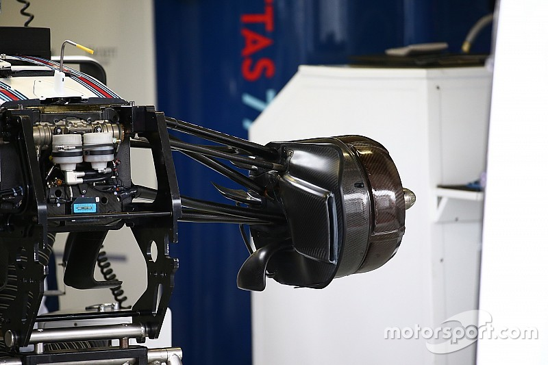 Технический брифинг: передние тормоза Williams FW38