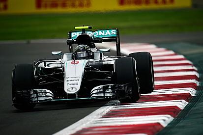 """Rosberg battu mais """"satisfait d'être en première ligne"""""""