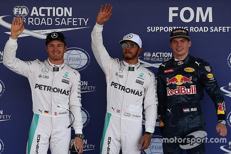 メキシコGP 予選:ハミルトンPP、メルセデスがフロントロウを飾る
