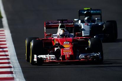 """Vettel gefrustreerd: """"Ferrari had potentieel voor eerste rij"""""""