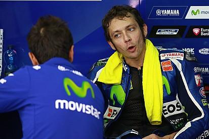 タイヤに問題を抱えていたロッシ。「ホルヘの前でゴールするのが重要だった」