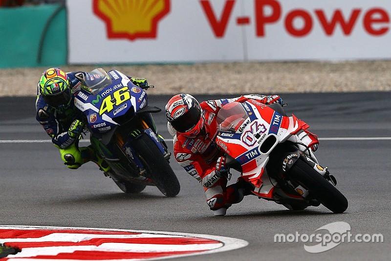 """Dovizioso - """"Je ne m'attendais pas à creuser un écart"""" avec Rossi"""