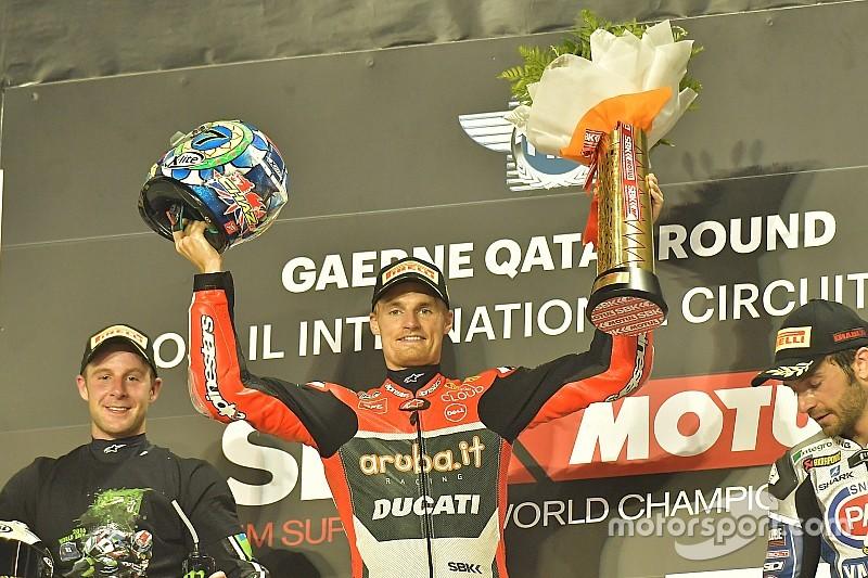 Ducati et Davies pour finir en beauté