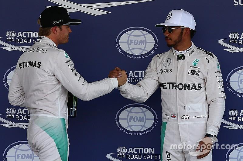"""Mercedes spürt """"Last"""", den Titelkampf fair zu halten"""