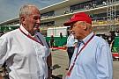Lauda califica la acción de Verstappen sobre Rosberg de