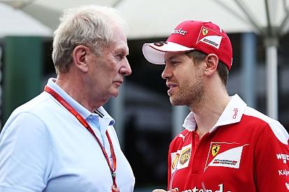 """Gedrag Vettel een viervoudig wereldkampioen onwaardig"", stelt Marko"