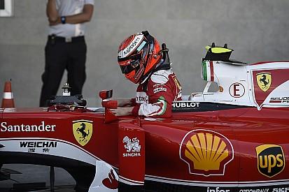 Räikkönen - Le dernier arrêt? Une erreur mais nous avons tenté