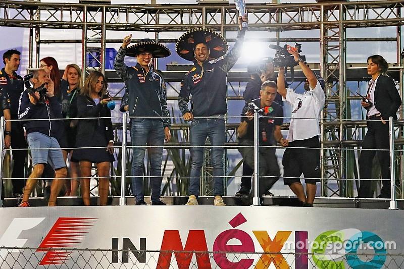 Red Bull satisfechos de que se hiciera justicia con Ricciardo