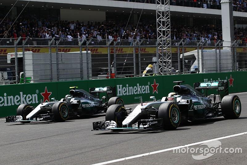 """Hulkenberg parla di """"regole piegate"""" per non penalizzare Hamilton"""