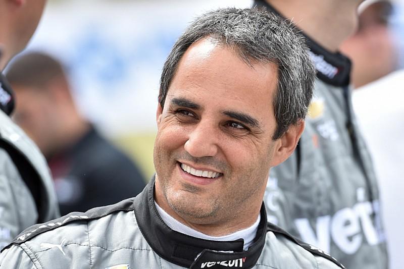 Juan Pablo Montoya blijft in 2017 bij Penske