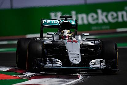Mercedes nam risico met ophanging van Hamilton na flatspot