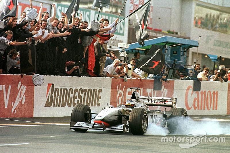 Vor 18 Jahren: 1. WM-Titel für Mika Häkkinen und McLaren-Mercedes