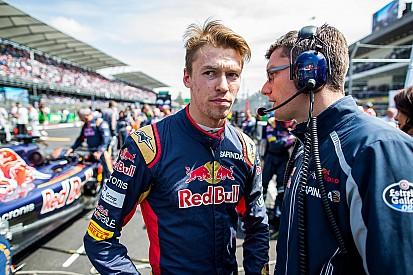 """Kvyat:""""não há amigos na Fórmula 1"""""""
