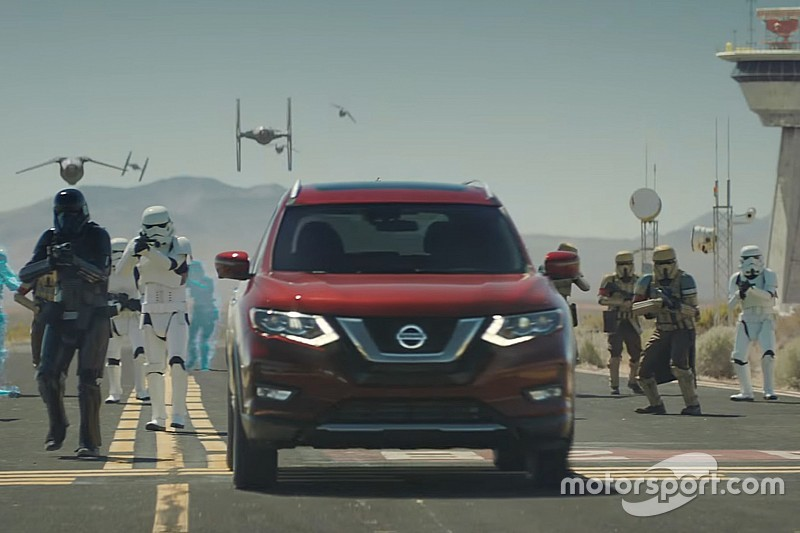VIDÉO - Le Nissan Rogue s'invite dans le monde de Star Wars