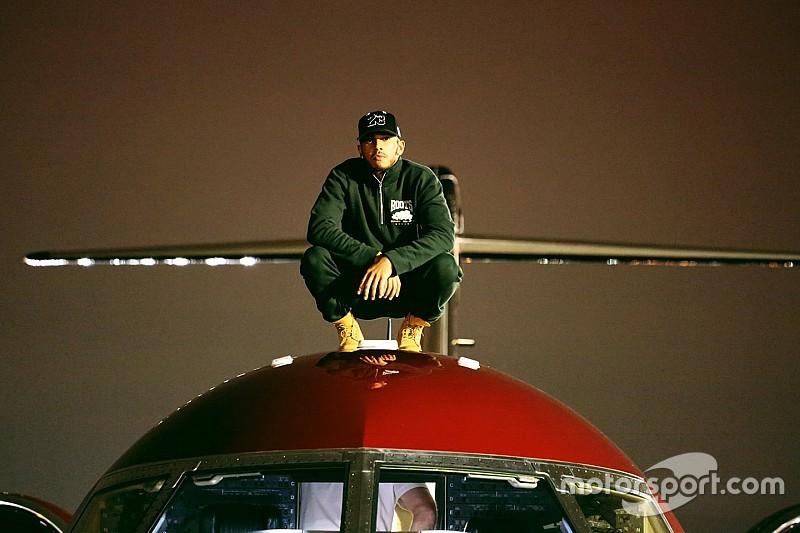 El Jet privado de Lewis Hamilton