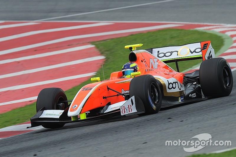 Дильман выиграл первую квалификацию Формулы V8 3.5 в Барселоне