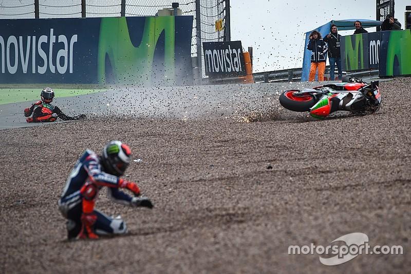 Les mille et une chutes de la saison MotoGP