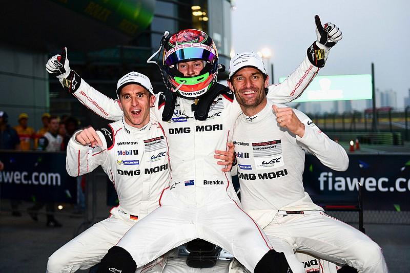 上海6小时正赛:保时捷卫冕成功,丰田留住车手年度冠军希望