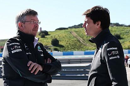Wolff staat achter F1-rol voor Brawn