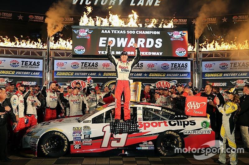 Unter Texas-Regen: Sieg und NASCAR-Finaleinzug für Carl Edwards