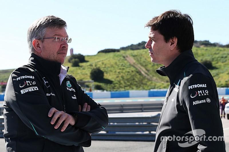 Wolff apoia retorno de Ross Brawn à F1