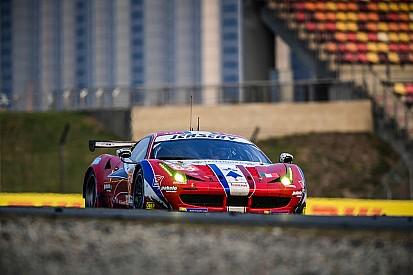 Shanghai: la Ferrari dell'AF Corse torna seconda in GTE AM