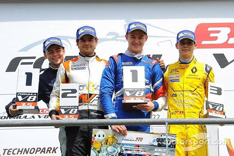 Le tableau d'honneur de la Formule V8 3.5 2016