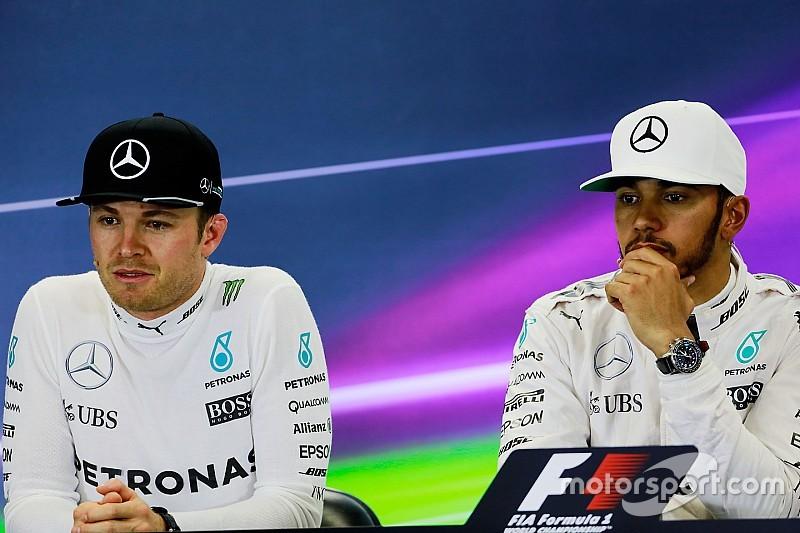 L'équité entre Rosberg et Hamilton au cœur de l'approche de Mercedes