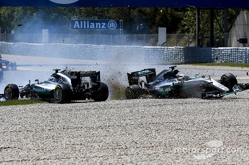 Die Formel-1-Kollisionen zwischen Hamilton und Rosberg seit 2014