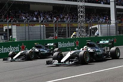 Moteurs - Hamilton et Rosberg à égalité dans la lutte pour le titre