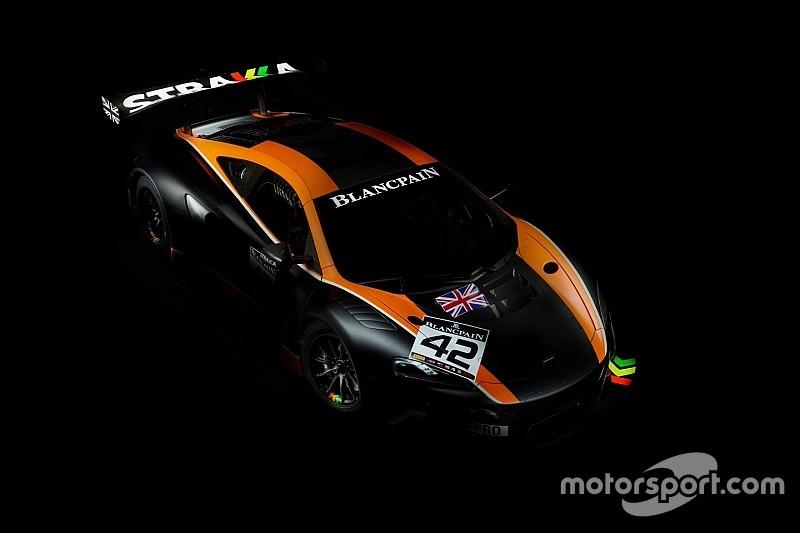 Strakka Racing en Blancpain GT Series avec McLaren