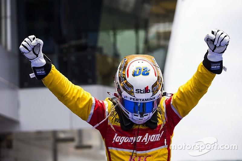 """Giovinazzi - Jouer le titre GP2 était """"impossible à imaginer"""""""