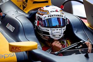 GP2 Noticias de última hora Giovinazzi no quiere oír hablar de F1 o DTM hasta que acabe la GP2