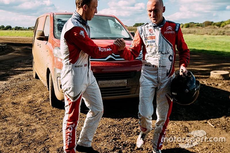 Insolite - Le Citroën Jumpy testé en mode WRC !