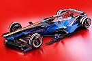 Futuristisch Formule 1-ontwerp: De Manor en Sauber van 2030