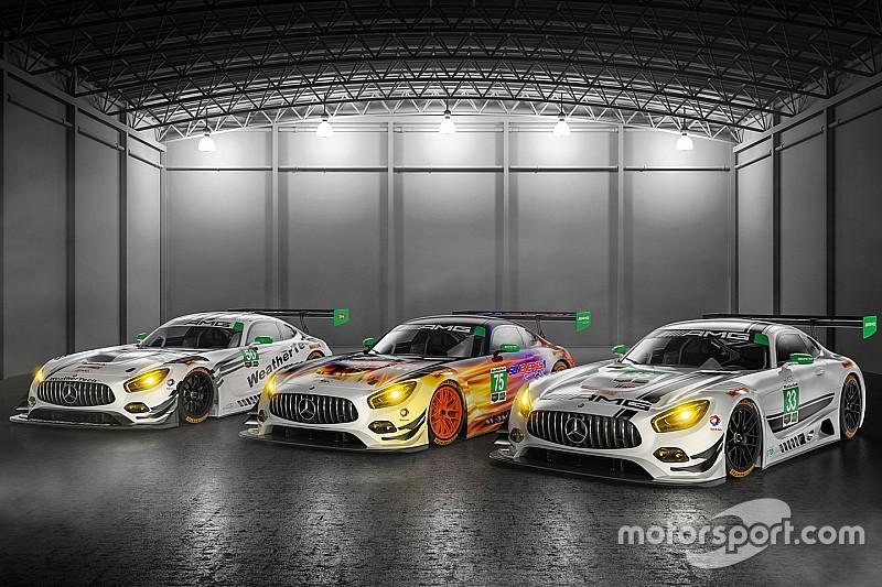 Mercedes-Benz AMG à l'assaut de l'IMSA en GTD en 2017