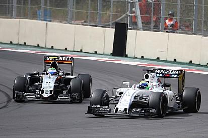 【F1】フォースインディア「最後までウイリアムズとの接近戦が続く」