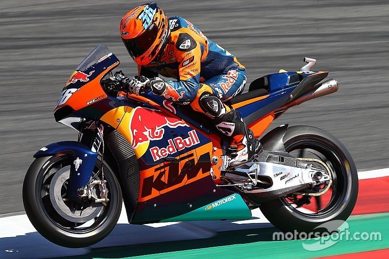 """Pour KTM, """"le plus important c'est de finir la course"""""""