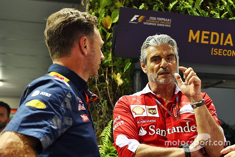 Horner questionne l'appel de Ferrari pour la pénalité de Vettel