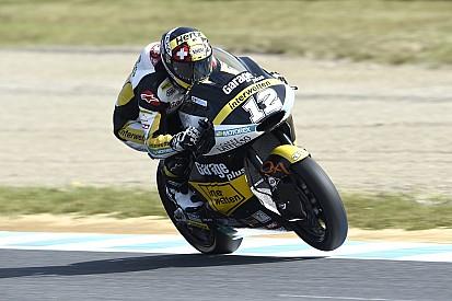 【Moto2バレンシア】FP1:ルティがトップタイム。中上は転倒喫す