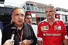 Marchionne, reticente a invertir más dinero en el equipo Ferrari de F1