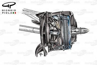 Les freins expérimentaux de la Mercedes W07 dévoilés