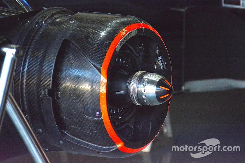 Technique - L'essieu obturé sur la McLaren d'Alonso