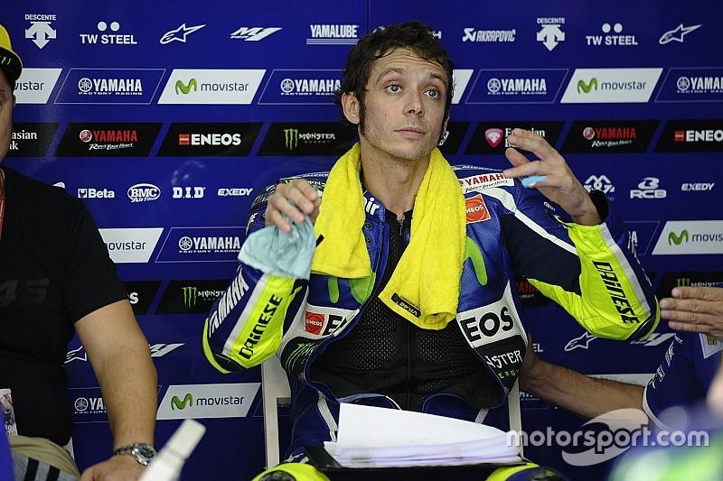 """Rossi veut gagner """"trois ou quatre dixièmes"""" pour viser le podium"""
