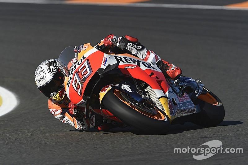 Márquez doit mieux comprendre la tenue des pneus