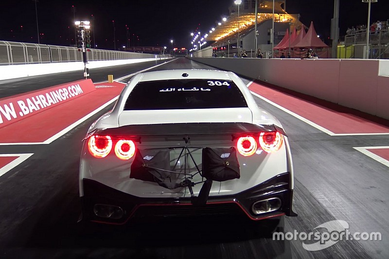 Vidéo - Le record du monde du quart de mile d'une Nissan GT-R!