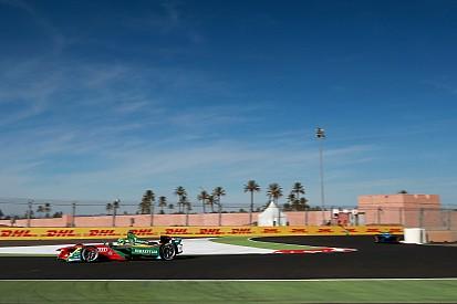 【フォーミュラE】マラケシュePrix FP1:ディ・グラッシが首位発進