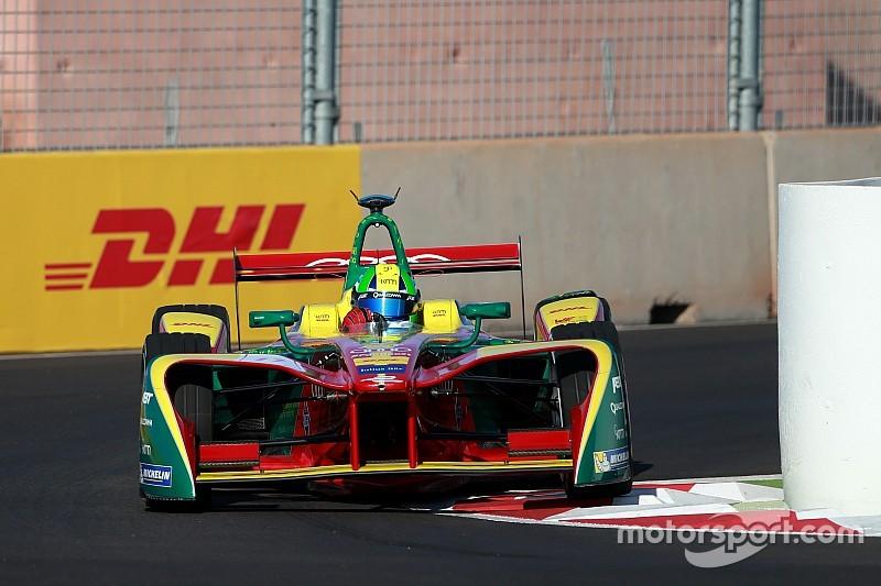 Di Grassi lidera los primeros libres del ePrix de Marrakech