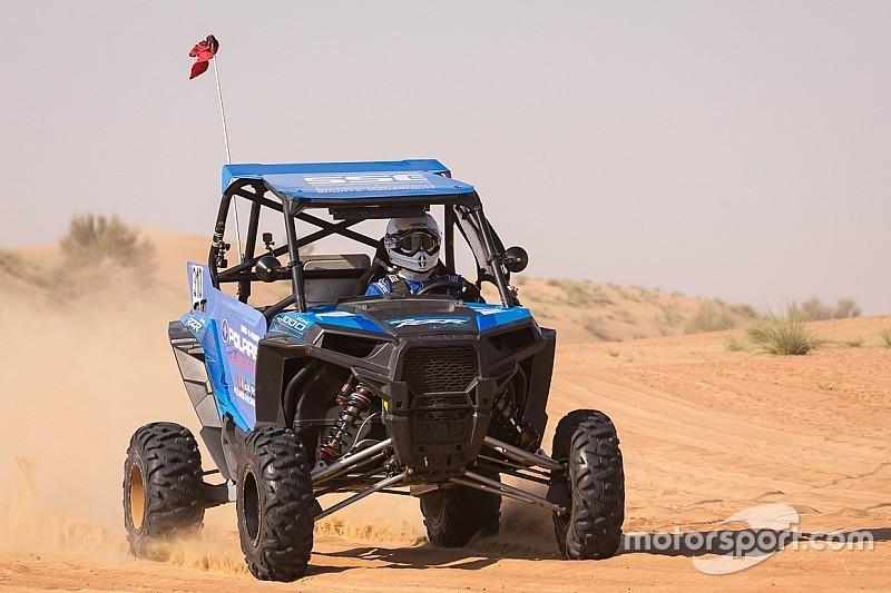 أحمد المقعودي يفوز بالجولة الثانية من بطولة الإمارات الصحراوية