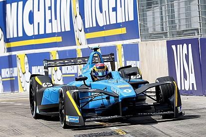 Formule E Marrakesh: Buemi snelst in tweede training, Bird crasht